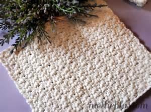 Free Simple Crochet Dishcloth Pattern