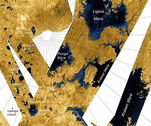 Surf's Up on Titan! Cassini May Have Spotted Waves in ...
