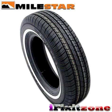 4 milestar ms775 205 75r14 95s sl all season quot white wall quot tires 205 75 14 new ebay