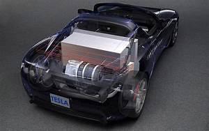 Tesla Roadster Occasion : vue en transparence du moteur et de l 39 immense batterie de propulsion de la tesla galerie ~ Maxctalentgroup.com Avis de Voitures