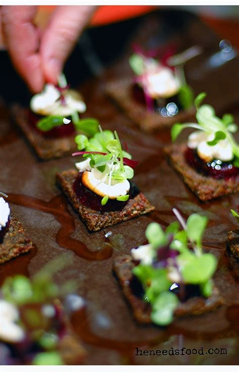goats cheese canape recipes 137 best images about microgreen recipes on