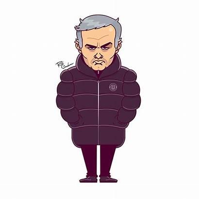 Mourinho Funny Face Football Behance Faces