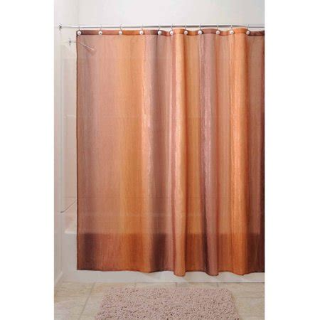 Ombre Shower Curtain - interdesign ombre fabric shower curtain various colors