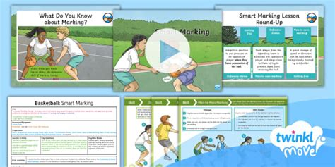 * New * Twinkl Move Pe  Y5 Basketball Lesson 5  Smart Marking Marking