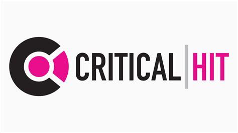 Critical Hit  Logo & Extended Brand Design Designwave