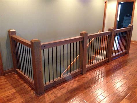 custom  reclaimed stair railings interior stair