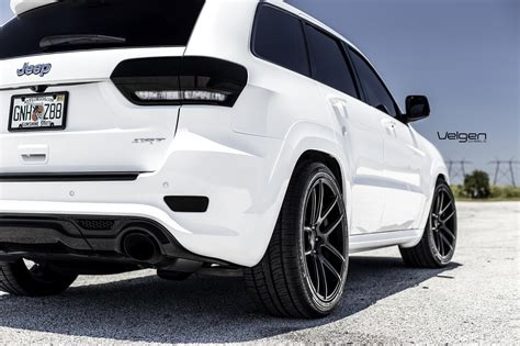 srt8 jeep white jeep srt8 velgen wheels vmb5 jeep garage jeep