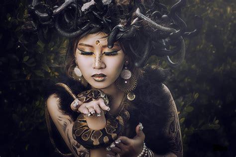 Asian, Women, Medusa, Snake Wallpapers HD / Desktop and ...