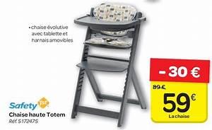 Carrefour Chaise Haute : carrefour promotion chaise haute totem safety 1st ~ Teatrodelosmanantiales.com Idées de Décoration