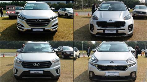 Hyundai Kia Compact Suvs Comparison Exterior Only