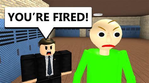 Baldi Gets Fired (Roblox Animation) - YouTube