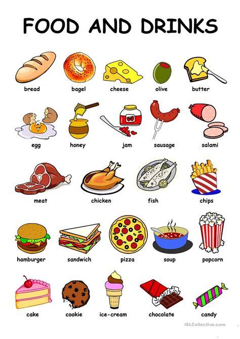 food drinks worksheet free esl printable worksheets