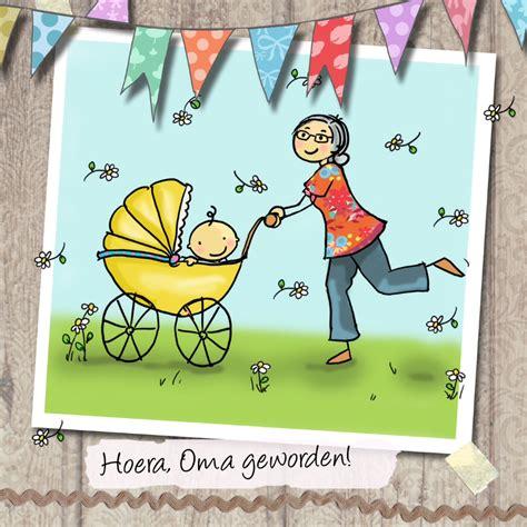 oma geworden hout felicitatiekaarten kaartje2go