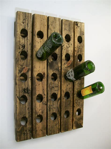 distressed wood wine cabinet wine riddling rack distressed wood antique style winerack