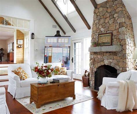 wohnzimmer deko landhausstil dekoideen wohnzimmer