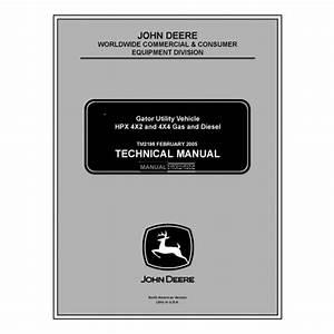 John Deere Tm2195 Technical Manual
