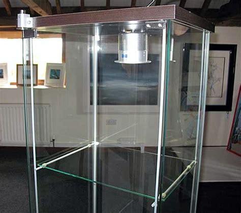 detolf glass door cabinet beech effect houseofaura ikea glass showcase detolf glass door