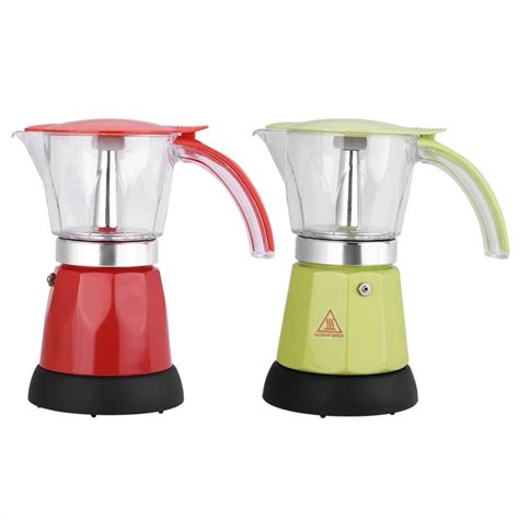 It's also commonly used in latin america moka pots incorporate a pressure regulator that functions similarly to a pressure cooker. 300ml/6 Cups Electric Espresso Moka Pot Detachable Kitchen ...
