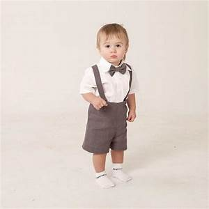boy linen suit ring bearer outfit baby boy clothes set of With baby boy dress clothes wedding