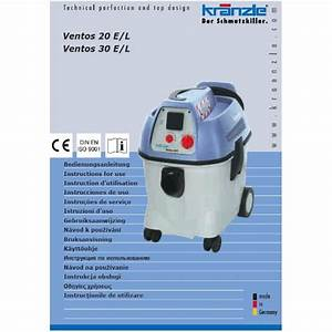 Ventos Vacuum Cleaner Operating Manuals  U0026 Diagrams  U2013 Kranzle Pressure Washers