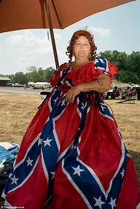 nashville photographer tammy mercure captures america39s With confederate flag wedding dress