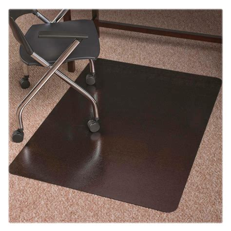 es robbins chair mat thickness es robbins trendsetter med pile bronze chairmat