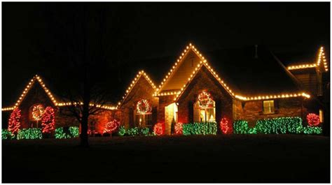 safely installing  christmas lights