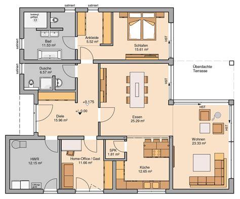 Grundriss Kernhaus Bungalow Select  Haus Pinterest