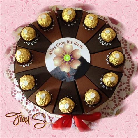 torte aus süßigkeiten basteln schokoladentorte aus papier made by frau s