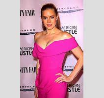 Amy Adams Showing Huge Cleavage At The Vanity Fair Chrysler Toast American Hustle In La