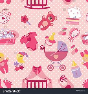 Pics For > Baby Wallpaper Design Pink