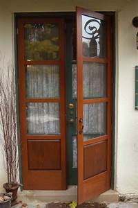 Furniture. Light Blue Entry Door With Glass Panel Using ...