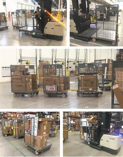Picker Order Picking Carts Increase Cart Crown