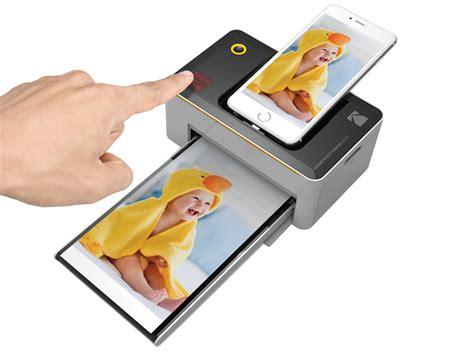 die neuen kodak printer drucken direkt aus dem handy