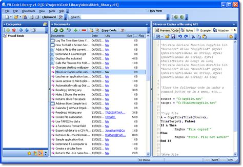 Vb Code Library 1.9.0.156 Free Download