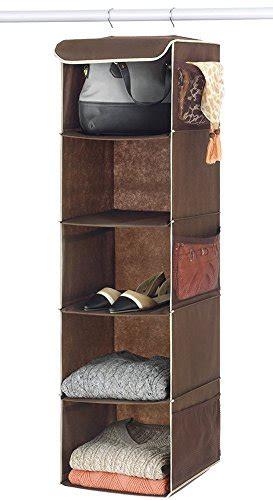 5shelf Hanging Closet Organizer Accessory Clothes Storage