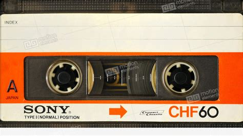 audio cassette vintage sony chf 60 minute type 1 audio cassette in
