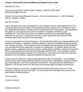 mechanical engineering cover letters mechanical engineer