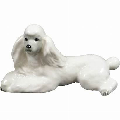 Poodle Porcelain Russian Dog Dogs Lomonosov Mint