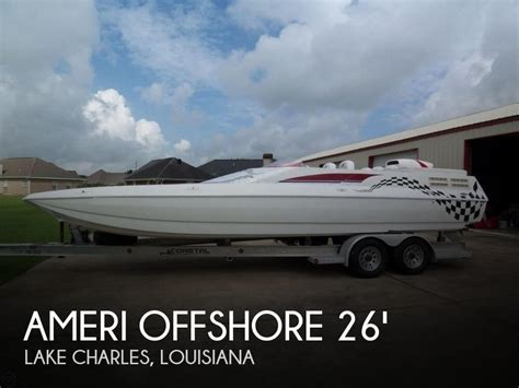 Used Boat Motors Lake Charles by For Sale Used 2002 American Offshore Nsx 2600 Os In Lake