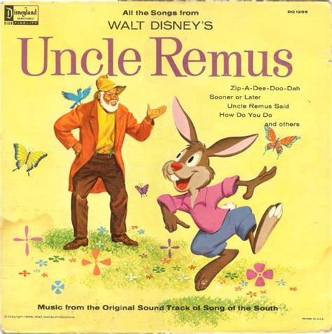 all the songs from walt disney s remus from the original sound track of quot song of