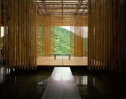 Kuma Kengo Wall Associates Bamboo Commune Hotel