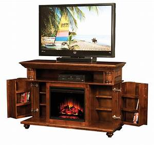 Bryant Electric Fireplace TV Console Town Country