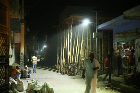 solar led brings leapfrog lighting to grid india and