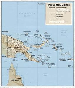 Papua New Guinea Maps - Perry-Castañeda Map Collection ...