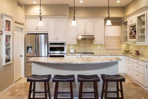 kitchen island  quartz countertop angies list
