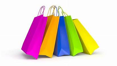 Shopping Bag Bags Paper Animation Background Colorful