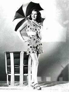 For Lovely Rita (Early 40's pin up of Rita Hayworth.)