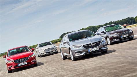 Ford Opel by Ford Mondeo Vs Opel Insignia Vs Mazda 6 Vs Skoda Superb