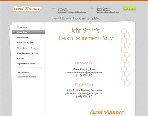 secrets  writing great event management proposals